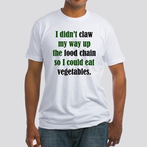 Vegetable Claw Fitted T-Shirt