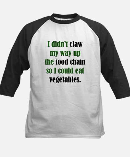 Vegetable Claw Kids Baseball Jersey