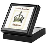 Cuban-American Princess Keepsake Box