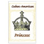 Cuban-American Princess Large Poster