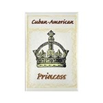 Cuban-American Princess Rectangle Magnet (100 pack