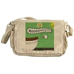 Taco Tuesday Tragedy Messenger Bag