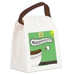 Taco Tuesday Tragedy Canvas Lunch Bag