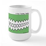 Taco Tuesday Tragedy Large Mug
