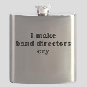 I Make Band Directors Cry Flask
