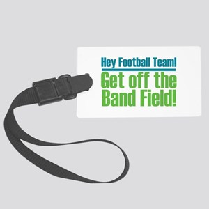 Marching Band Field Large Luggage Tag