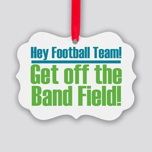 Marching Band Field Picture Ornament