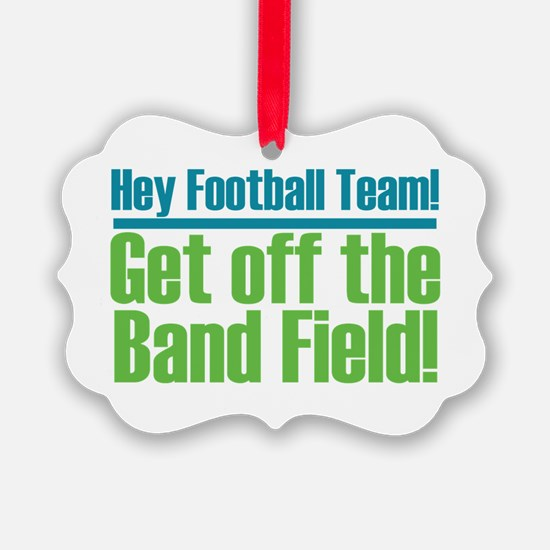 Marching Band Field Ornament