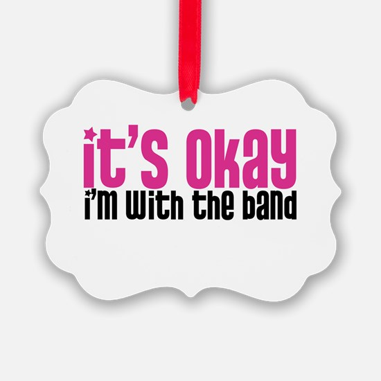 with_the_band_pink_png.png Ornament