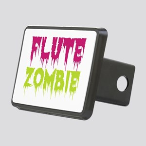 Flute Zombie Rectangular Hitch Cover