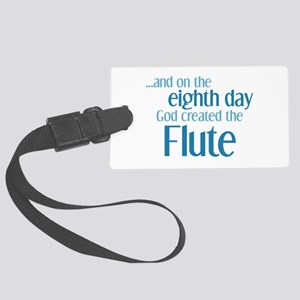 Flute Creation Large Luggage Tag