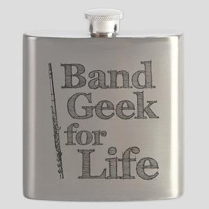 Flute Band Geek Flask