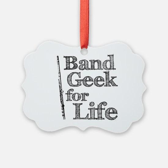Flute Band Geek Ornament