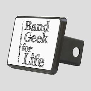 Flute Band Geek Rectangular Hitch Cover