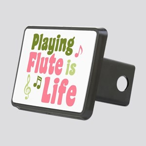 Flute is Life Rectangular Hitch Cover