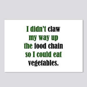 Vegetable Claw Postcards (Package of 8)