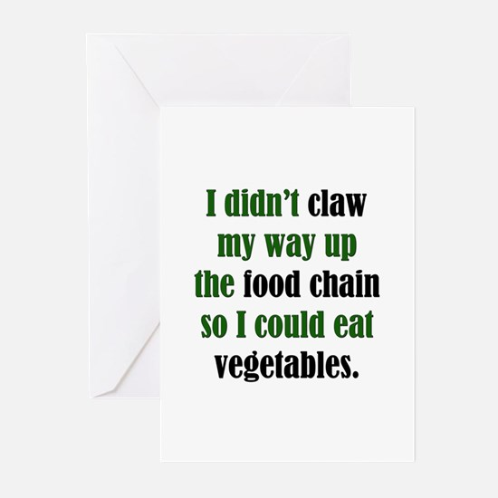 Vegetable Claw Greeting Cards (Pk of 10)