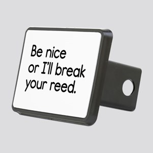 Break Your Reed Rectangular Hitch Cover