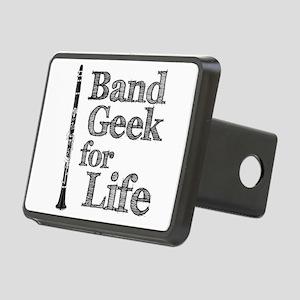 Clarinet Band Geek Rectangular Hitch Cover
