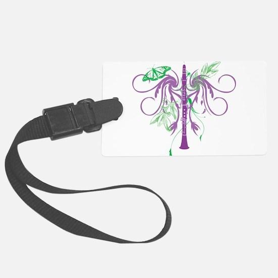 Fantasy Clarinet Luggage Tag