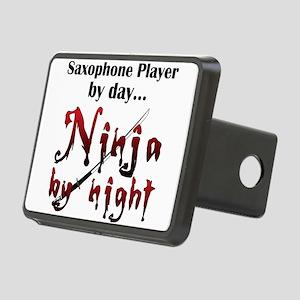 Saxophone Ninja Rectangular Hitch Cover