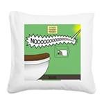 Taco Tuesday Tragedy Square Canvas Pillow