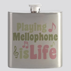 Mellophone is Life Flask