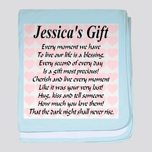 Jessica's Gift baby blanket