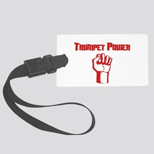 Trumpet Power Large Luggage Tag