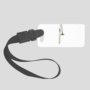 Take the Trombone Small Luggage Tag