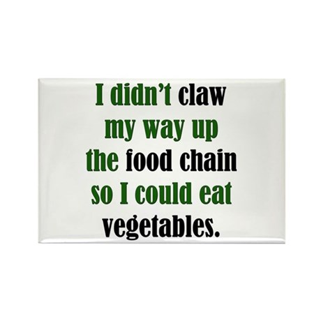 Vegetable Claw Rectangle Magnet (10 pack)