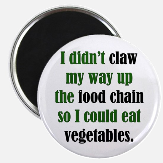 """Vegetable Claw 2.25"""" Magnet (10 pack)"""