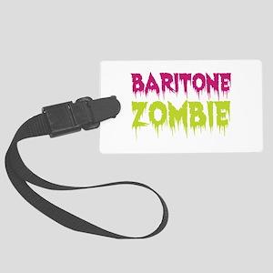 Baritone Zombie Large Luggage Tag