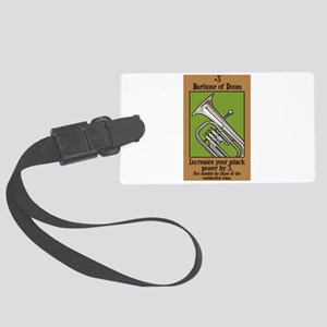 Baritone of Doom Large Luggage Tag