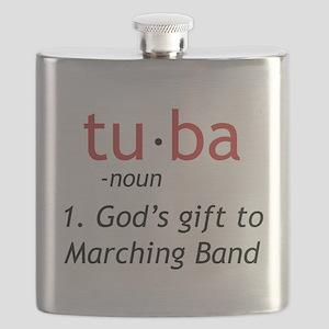 Tuba Definition Flask