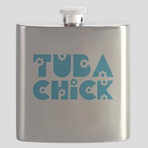 Tuba Chick Flask
