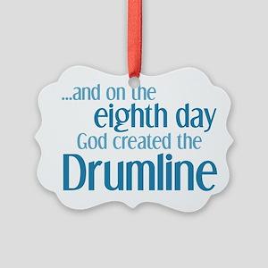 Drumline Creation Picture Ornament