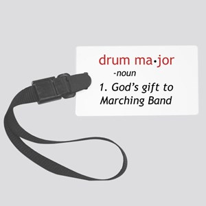 Definition of Drum Major Large Luggage Tag
