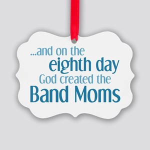Band Mom Creation Picture Ornament