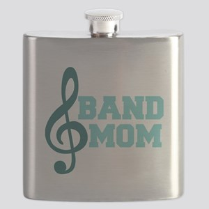 Treble Clef Band Mom Flask