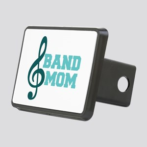 Treble Clef Band Mom Rectangular Hitch Cover