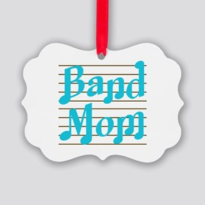 Musical Band Mom Picture Ornament