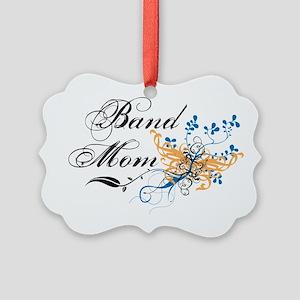 Band Mom Picture Ornament
