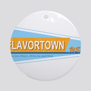 Fans of Flavortown Ornament (Round)