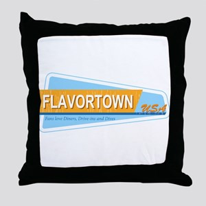 Fans of Flavortown Throw Pillow