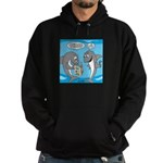 Shark Shopping Hoodie (dark)