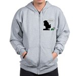 Sailor Spinach Aversion Zip Hoodie