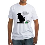 Sailor Spinach Aversion Fitted T-Shirt