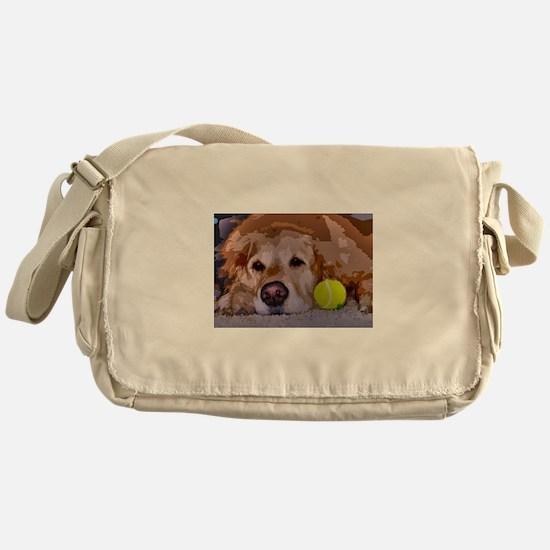 Golden Moment Messenger Bag