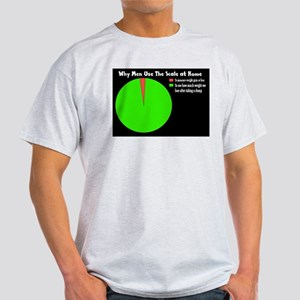 Why Men Use the Scale at Home Light T-Shirt